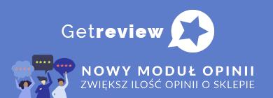 Getreview - moduł opinii